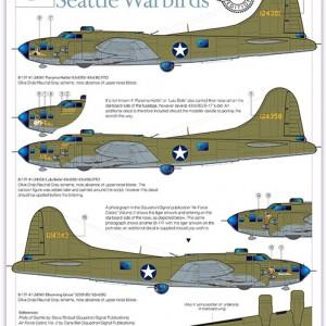 B-17F Seattle Warbirds