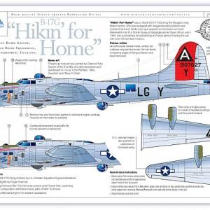 B-17G Hikin' For Home