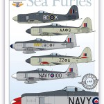 Royal Canadian Navy Sea Furies