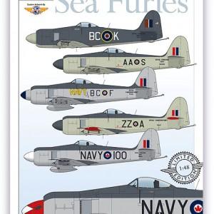 Royal Canadian Navy Sea Furies